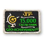 15000 Finds Geo-Achievement Patch